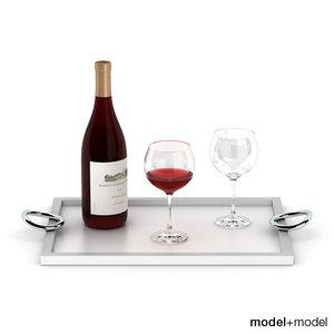 max wine set christofle vertigo