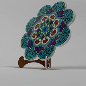 3d decorative ceramic model