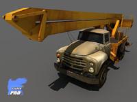 Zil Crane Heavy Truck