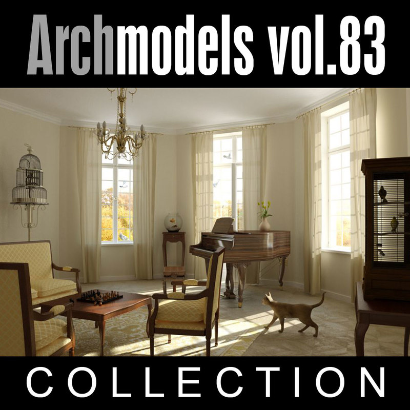 3d archmodels vol 83
