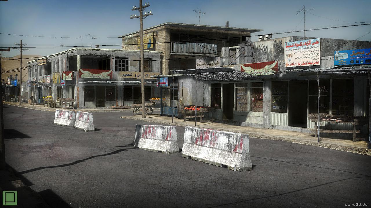 3d afghan city environment 25 model