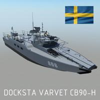 3d combat boat 90 h