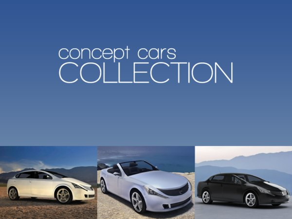 3dsmax electric concept cars