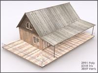3dsmax cottage interiors