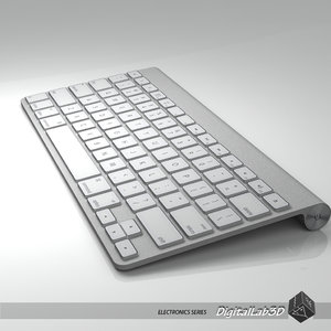 3d keyboard electronics typewriter model
