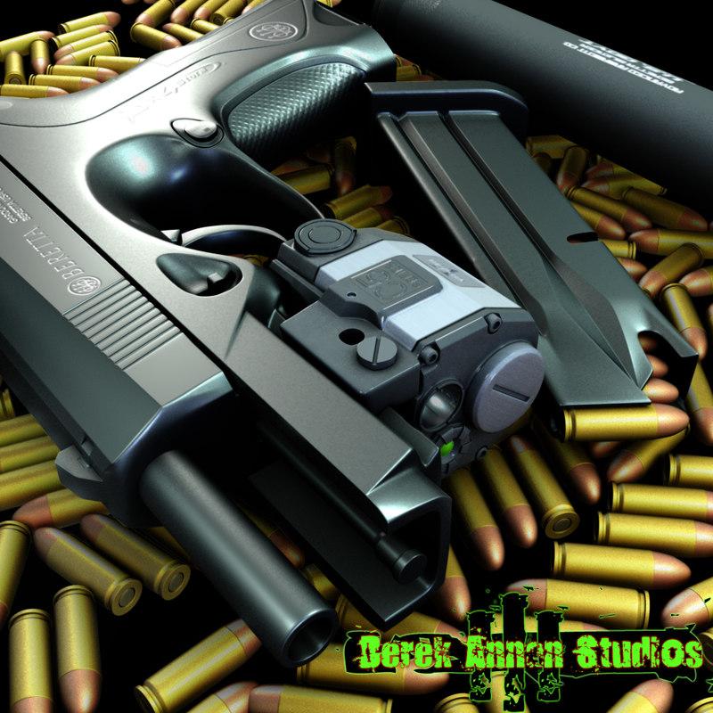 beretta px4 storm gun obj