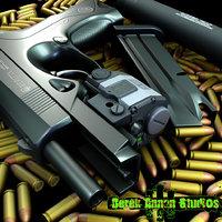 Beretta PX4 Storm  beretta pistol px4 storm handgun Silencer laser 9MM bullet