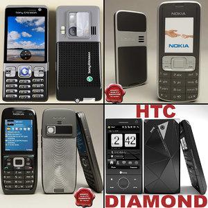 phones v4 3d max