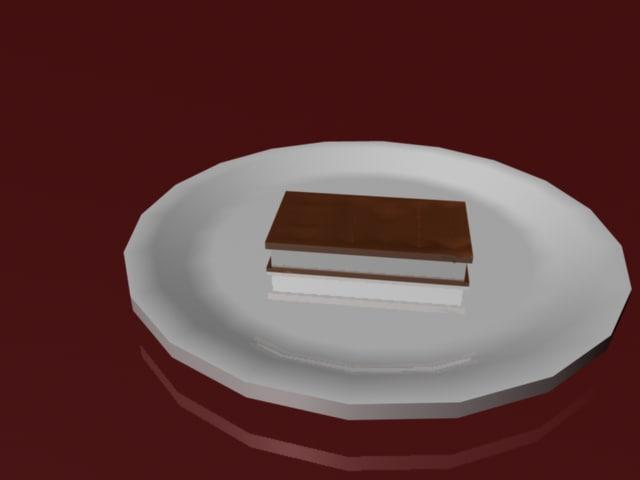 free plate glass 3d model