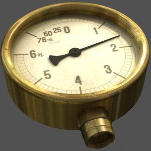 3ds max meter gauge