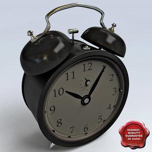 3ds max retro clock