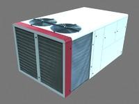 Rooftop AC cooler