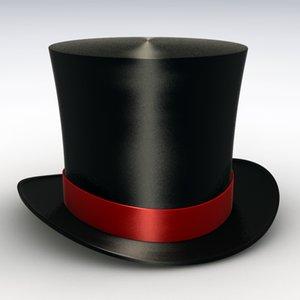 hat ringmaster 3d model