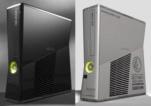 xbox 360 s 3d model