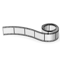 3d model movie tape