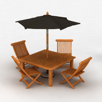 maya cedar furniture set