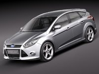 Ford Focus 5-door hatchback 2012-2014