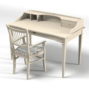 3d minacciolo kid desk