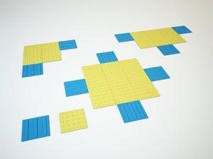 tactile floor 3d max
