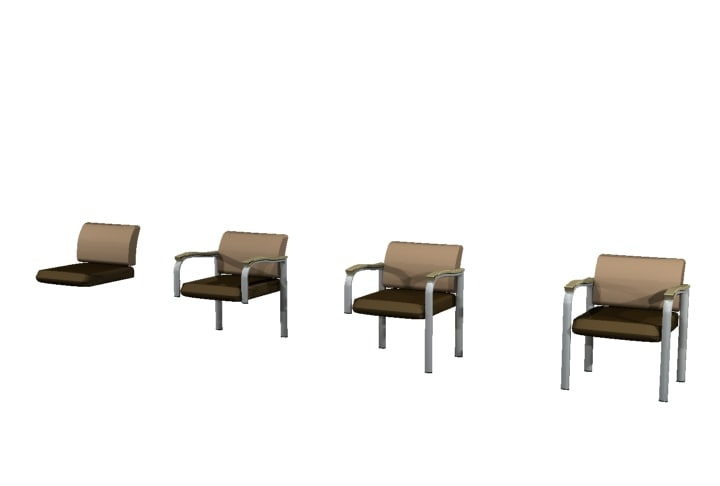 chairs reliant 3d model