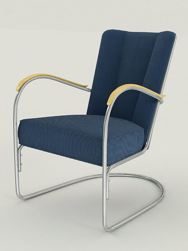 gispen chair 3ds