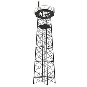 max tower broadcaster steel