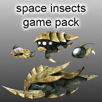 Space Insects Game Pack
