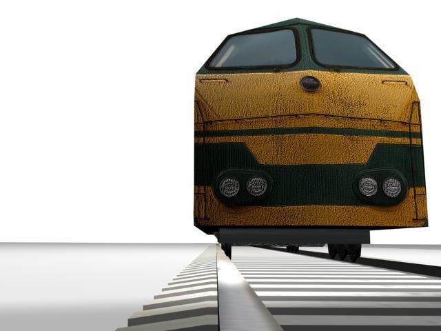free locomotive 3d model