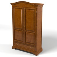 selva bedroom armoire storage wardrobe cabinet traditional country classic