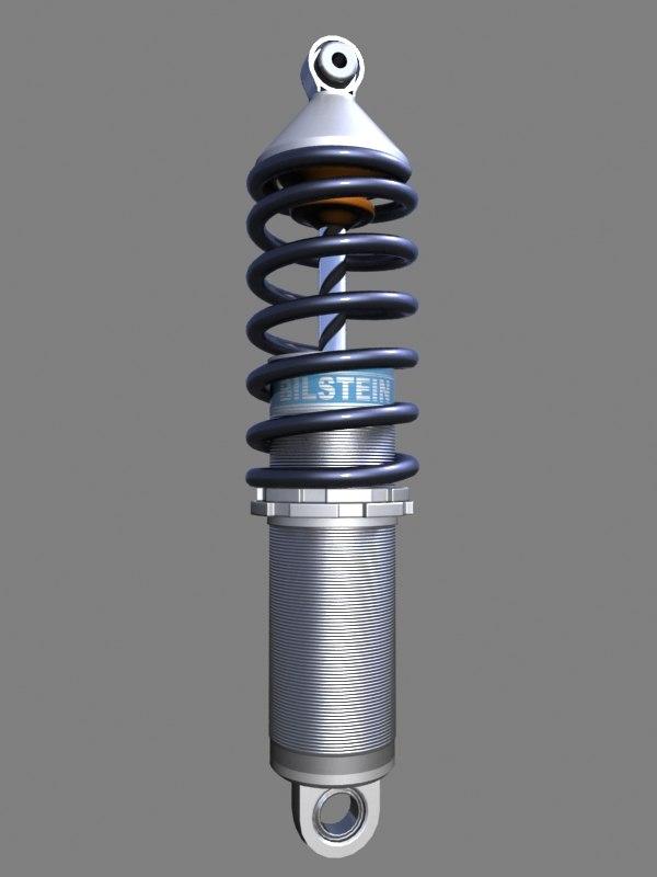 bilstein suspension 3d model