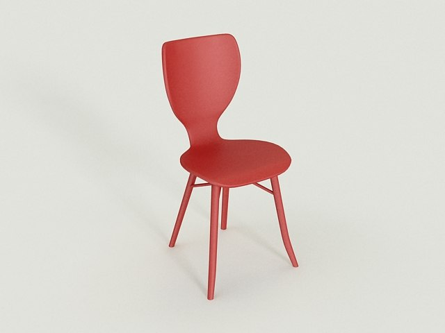 3d tulipani chair model