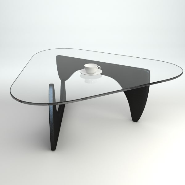 Noguchi coffee table 3d model for Coffee table 3d model