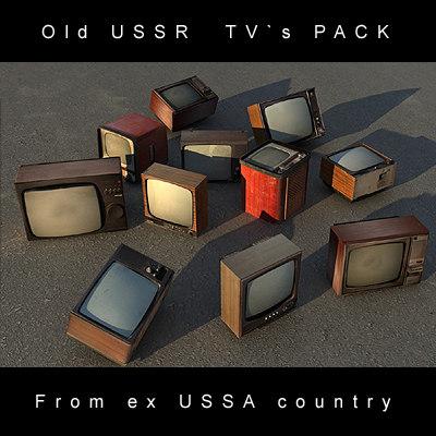 tv s ussr 3d model