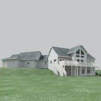 house 4 3d model