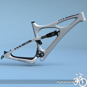 bike frame mojo hd 3d model