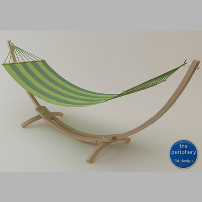 troya hammock 3d model