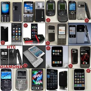 phones v5 3d max