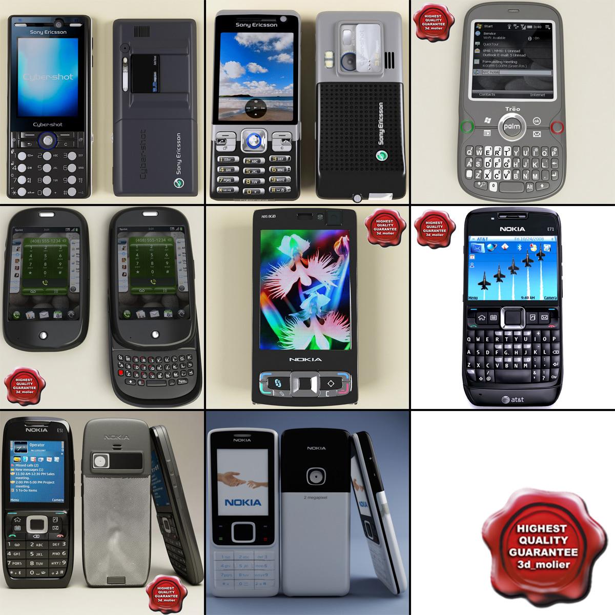phones v7 3d max