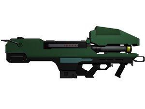 3d model spartan lazer