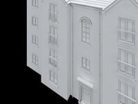 uk residential appartment 3d model