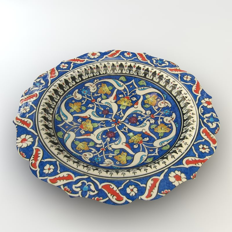 3d traditional hand bowl