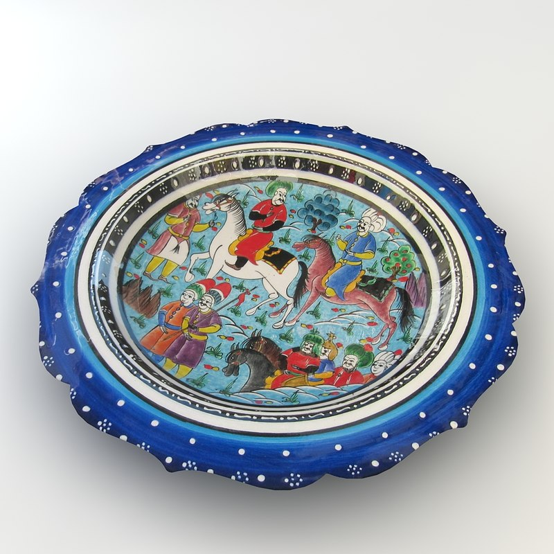 traditional hand bowl 3ds