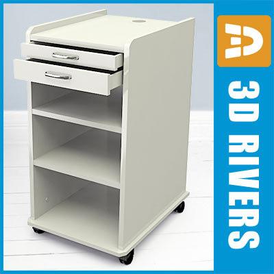 3d dental mobile cabinet