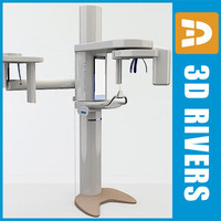 Panoramic dental X-Ray machine by 3DRivers