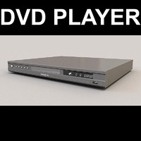 dvd player 3d max