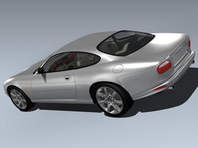 xk-8 2002 3d model