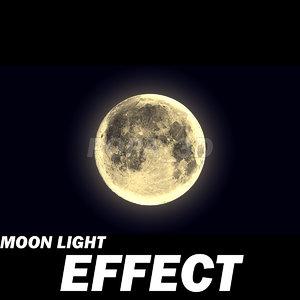 moon light effects 3d max