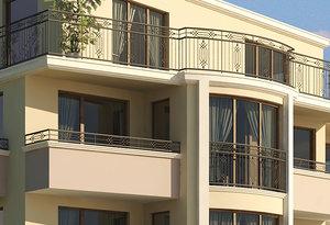 railings 4 1 3d model