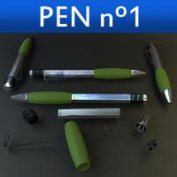 pen 3d model