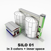 Silo 01 Industrial structure